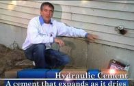 Fixing Foundation Cracks – Outdoor How To From Home Work With Hank